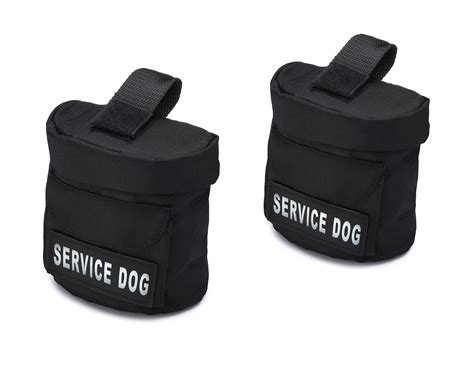 industrial puppy service harness saddle bags with service velcro patches by industrial puppy