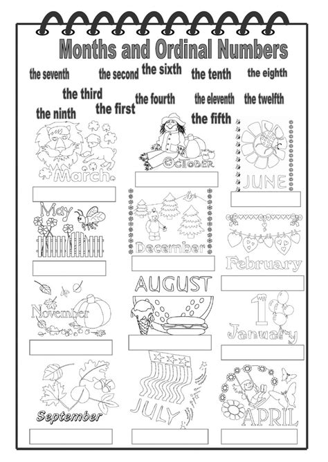 week 7 suprasegmental activities ef education first months and ordinal numbers interactive worksheet the