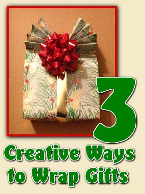 three creative ways to wrap gifts homemade by jade