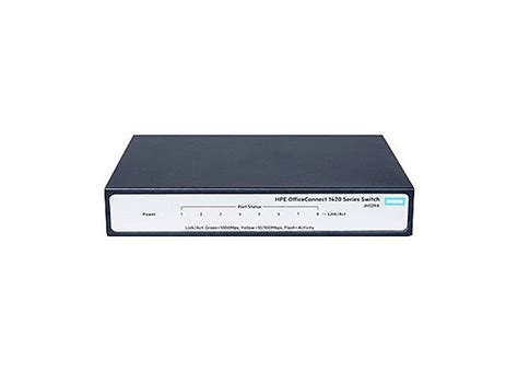 Hp Jh329a Switch 8 Gigabit 1420 8g hpe officeconnect 1420 8g switch 8 ports unmanaged jh329a aba fixed managed switches