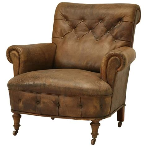 antique leather armchair antique leather armchair circa 1900s at 1stdibs