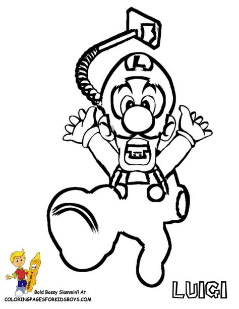 super mario characters pictures kids coloring