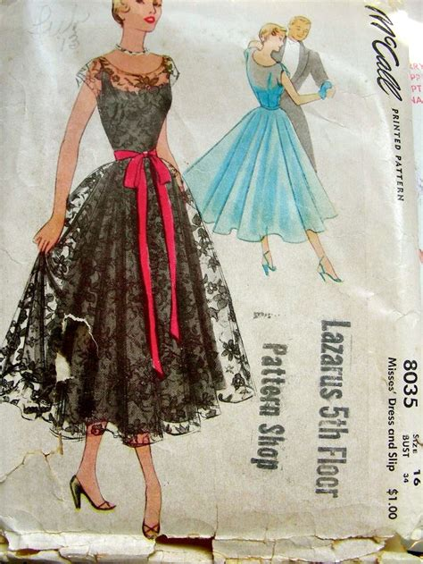 dress pattern ideas the 25 best vintage dress patterns ideas on pinterest