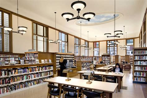 Library Interior by A N Park Branch Library Interior A N