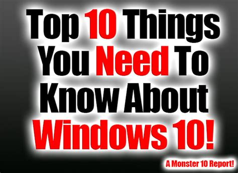 10 things you need to know about the 2017 honda accord top 10 things you need to know about windows 10