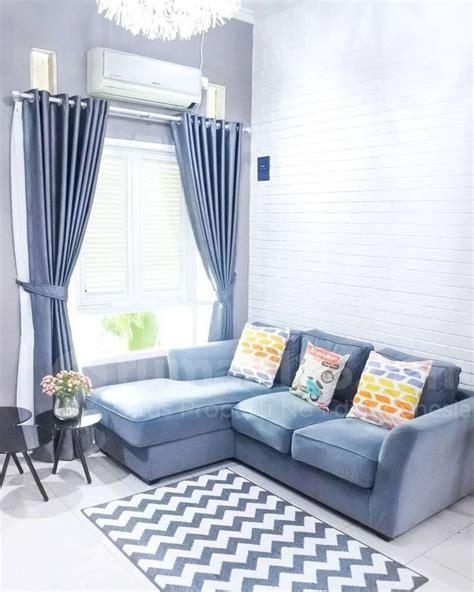 desain interior rumah type   terlihat luas