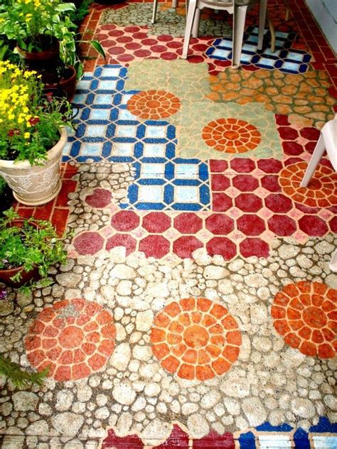 14 Amazing Painted Floors   DIY Home Decor Ideas