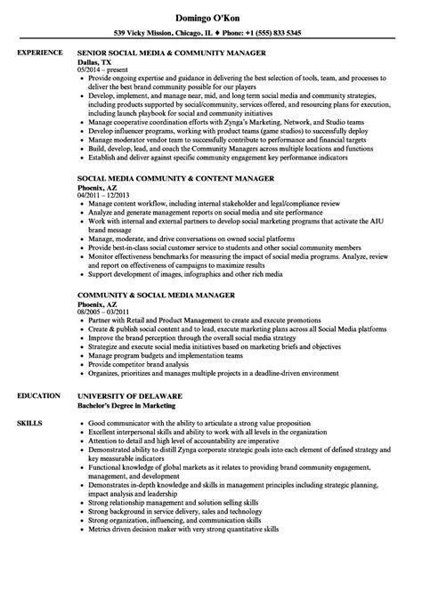 social media specialist resume sample oyle kalakaari co