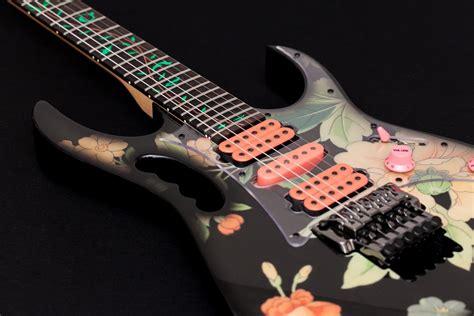 jem flower pattern ibanez jem 77fp 1991 floral pattern guitar for sale