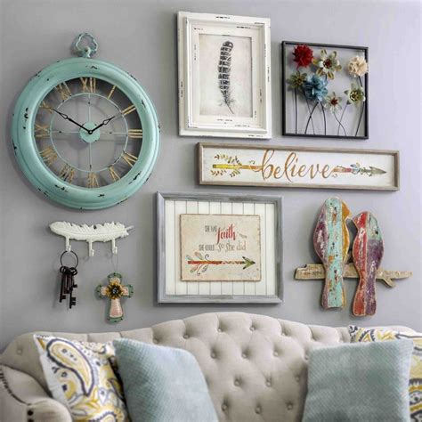 vintage bedroom wall decor shabby chic wall clock chic bedroom shabby chic design