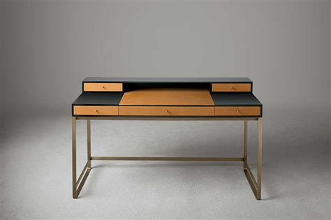 cozy italian furniture by my home collection proust console writing desk home collection deco