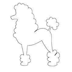 Poodle Skirt Applique Template by 1000 Images About Poodle Skirt Costume On