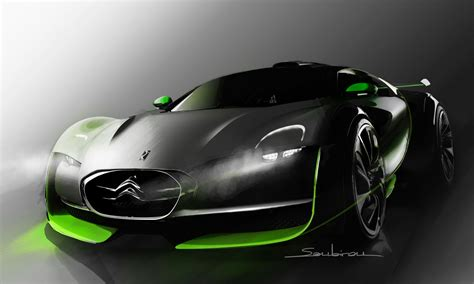 citroen survolt car review citroen survolt sports car concept debuts at