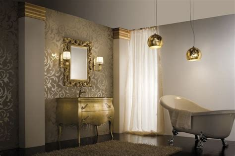 trendy bathrooms trendy bathroom designs in gold interior decoration