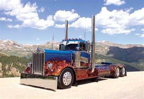 big kenworth trucks cool paint custom big rigs rigs
