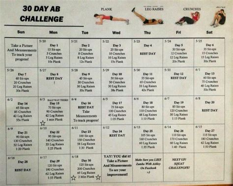 30 day ab challenge for guys 30 day ab workout diets workouts 30 day