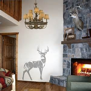 Deer Stickers For Wall deer sudden shadows wall decals wall sticker outlet