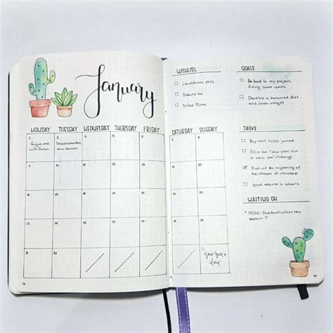 monthly layout bullet journal monthly log inspiration bullet journal and logs