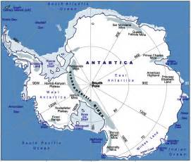 South America And Antarctica Map by Johomaps