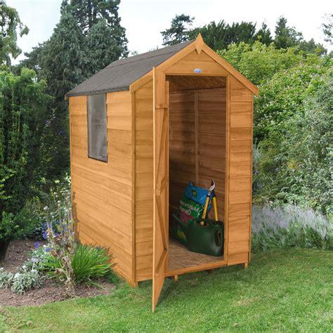 apex overlap wooden shed departments diy  bq