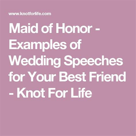 Honor Speeches Best Friend Sles 25 best ideas about bridesmaid speech exles on