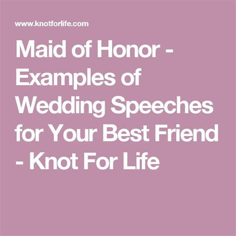 25  Best Ideas about Bridesmaid Speech Examples on