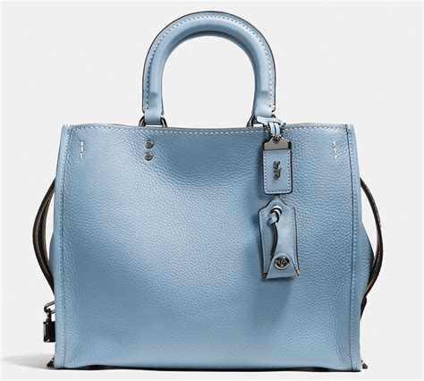 Coach Introducing Coach Handbag Collection by Introducing The Coach Rogue Bag Now Available For