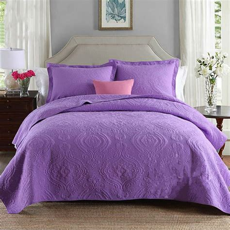 purple coverlets purple bedspreads 100 cotton bedding sets bedspreads king