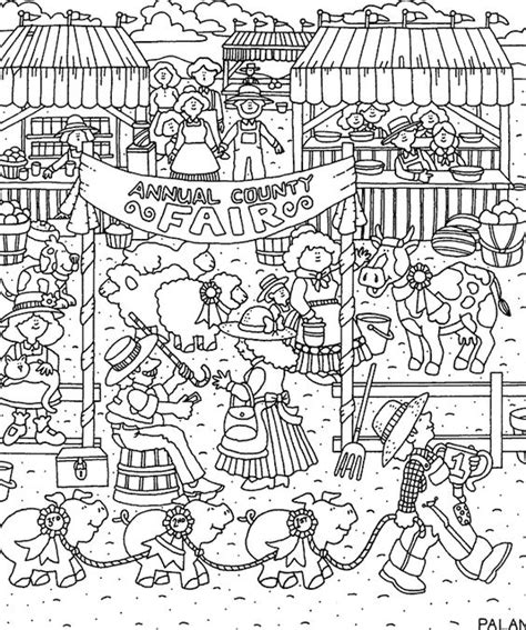 county fair colouring pages page 2 coloring pages