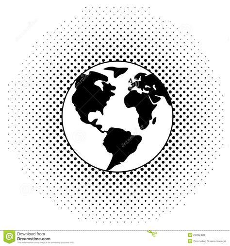 imagenes en blanco y negro de la tierra globo blanco y negro de la tierra foto de archivo imagen