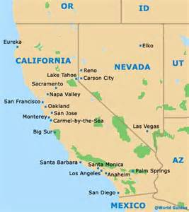 california state tourism and tourist information