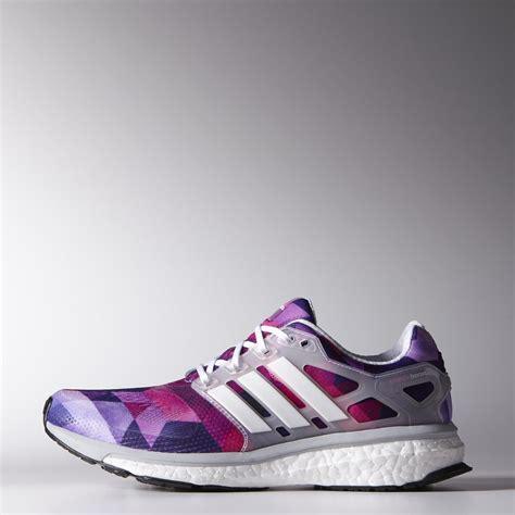 Sepatu Runninggym Adidas Boost Blackpink adidas womens energy boost esm running shoes white purple pink fitnessnuts
