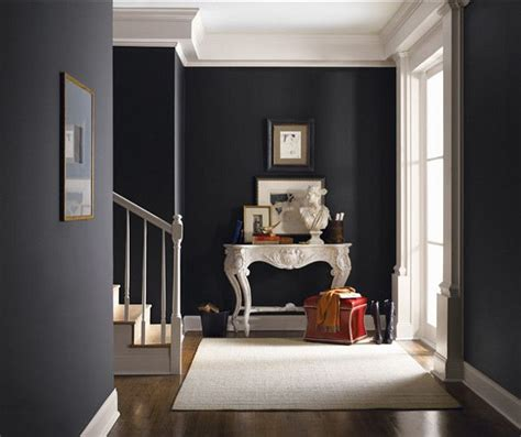 black interior paint sherwin williams tricorn black sw 6258 colors gray to