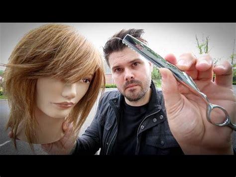cuts by matt beck shag haircut tutorial medium length layered haircut with