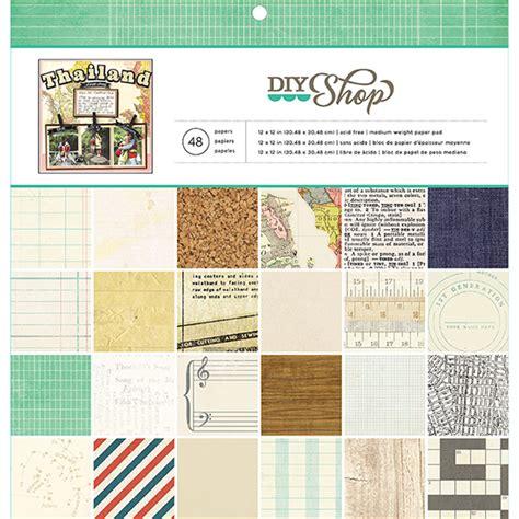 american crafts diy american crafts diy shop collection 12 x 12 paper pad