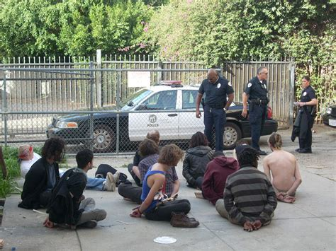 Lapd Arrest Records In 2013 The International Bid Patrol Arrested Homeless At More Than 57