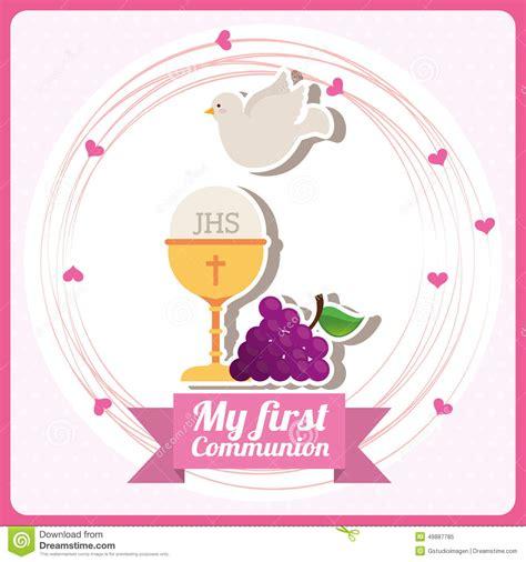imagenes que digan recuerdos mi primera comuni 243 n ilustraci 243 n del vector imagen de uvas