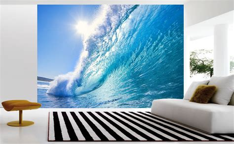 surf wall murals surfing waves wall mural and removable sticker