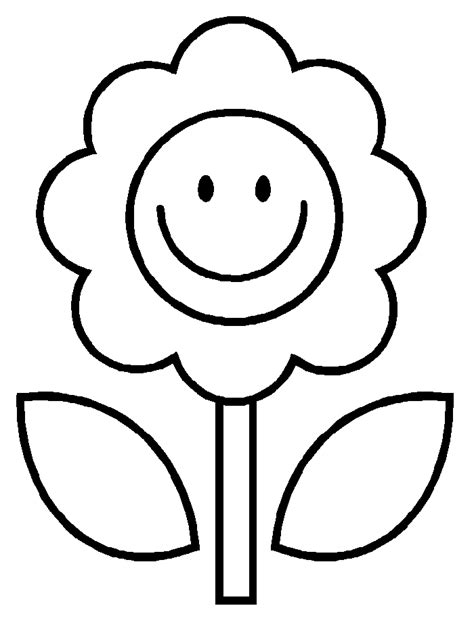flower coloring sheet free printable flower coloring pages for best