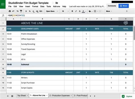 budget breakdown template budget breakdown template sletemplatess