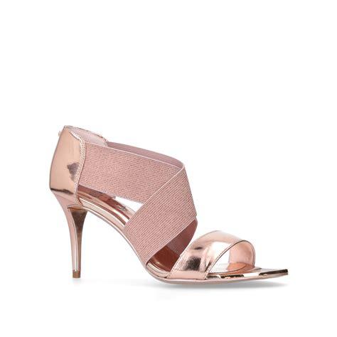 Heels Combi Gold leniya ted baker leniya gold combination high heel occasion shoes by ted baker