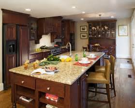 kitchen islands with granite countertops santa cecilia light granite kitchen traditional with gray