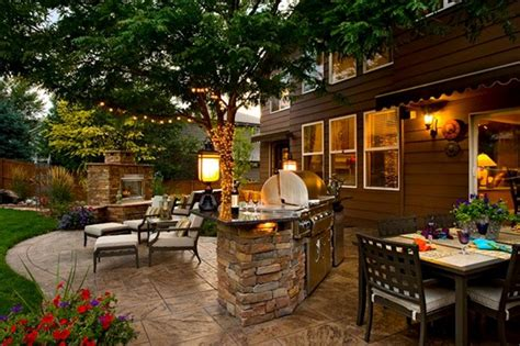 outdoor kitchen lighting ideas inspiring garden patio backyard ideas on a budget with