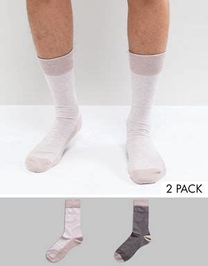 Selected Homme Socks 2 Pack new in clothing for asos