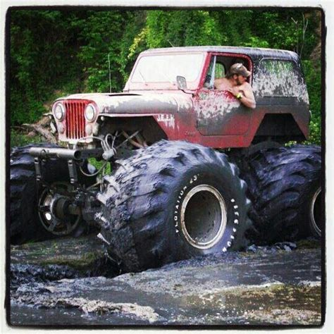 monster jeep cj 1000 images about radical 4x4 jeeps on pinterest cool
