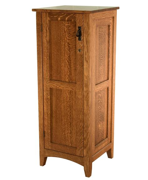 mission armoire flush mission jewelry armoire with lockable door