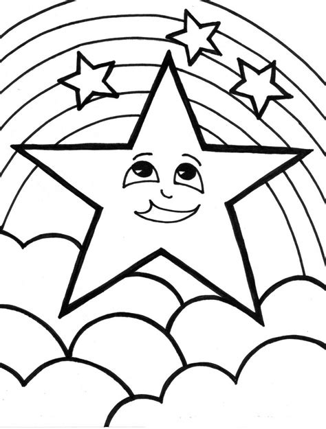coloring pages of the rainbow rainbow coloring pages for childrens printable for free