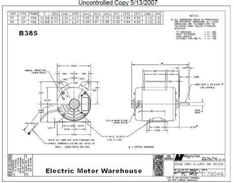 gould century 230v electric motor wiring diagram
