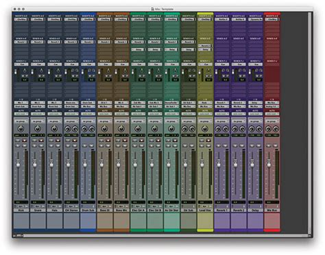 Top 5 Pro Tools Tips For Home Studios Performer Mag Pro Tools Mixing Template
