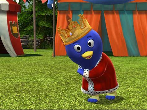 Backyardigans King Pablo Image King Pablo At Tea Jpg The Backyardigans Wiki